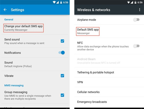 Cách thay đổi ứng dụng nhắn tin trong Android 5.0 Lollipop - ảnh 2