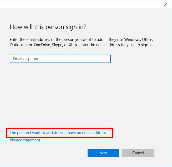 Cách tạo tài khoản cục bộ cho Windows 10 để chia sẻ truy cập - ảnh 2