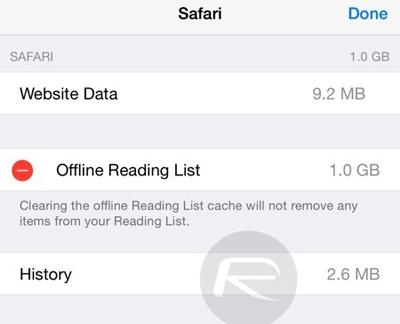 8 tuyệt chiêu giúp tiết kiệm dung lượng iPhone, iPad - ảnh 7