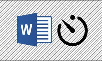 Cách biết thời gian làm việc trên Microsoft Word