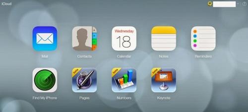 iCloud đổi giao diện theo phong cách iOS 7 - ảnh 1